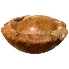 Dennis Elliot Artisan Maple Burl Bowl