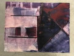 Untitled (Purple Composition)