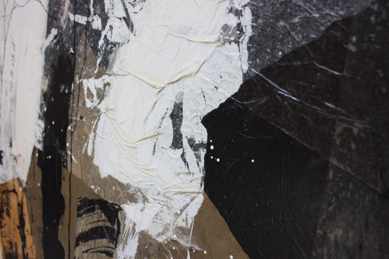 Dennis Frings 'Timbrel Series V' Large Mixed-Media on Board For Sale 1