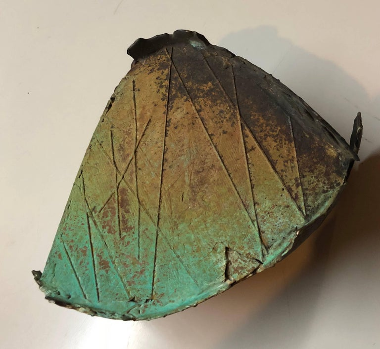 Abstract Patinated Bronze Sculpture San Francisco Artist For Sale 5
