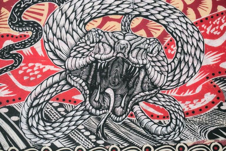 Midgard Serpent - Print by Dennis McNett
