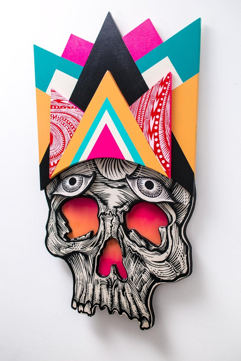 Dead Guy - Sculpture by Dennis McNett