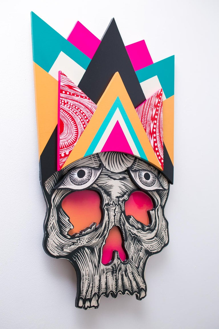 Dead Guy - Street Art Sculpture by Dennis McNett