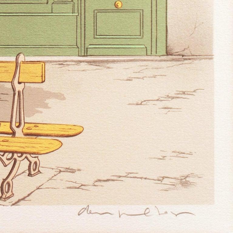 Hotel Paradis, Paris - Post-Impressionist Print by Denis Paul Noyer