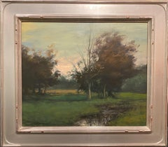Tonalist Landscape with Brook