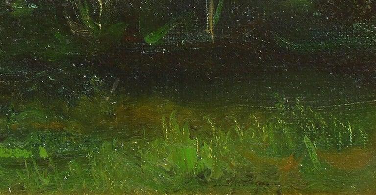Tonalist Sunset Landscape by Dennis Sheehan For Sale 5