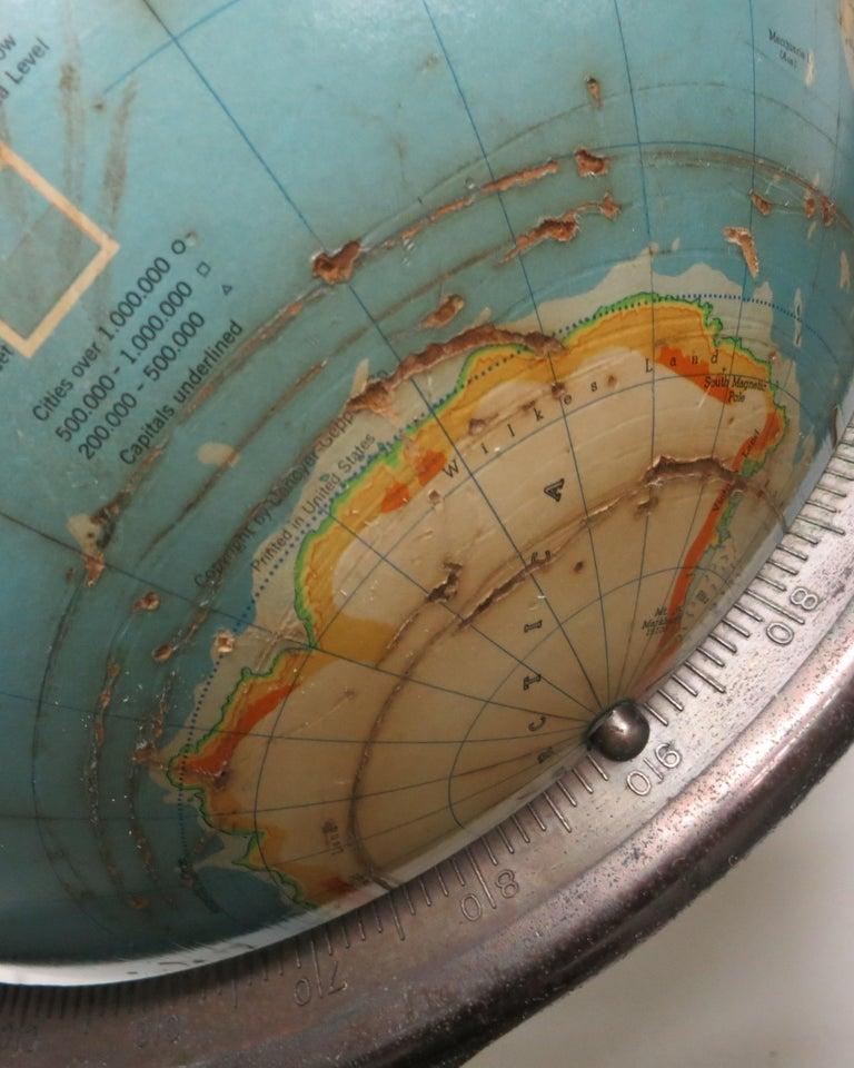 Denoyer-Geppert Floor Globe Midcentury For Sale 3