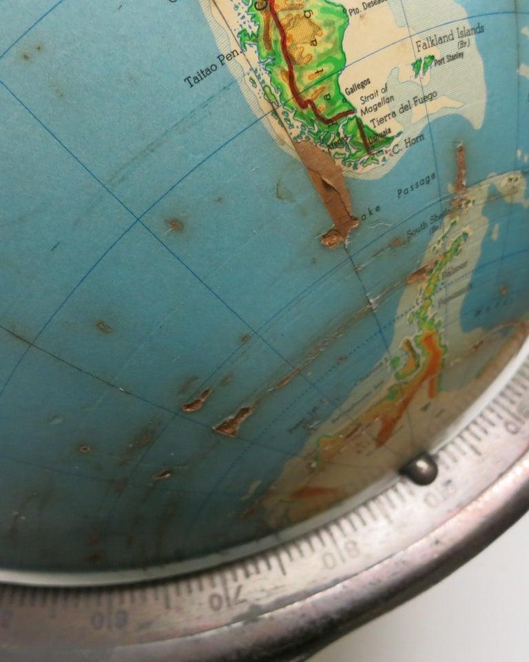 Denoyer-Geppert Floor Globe Midcentury For Sale 2