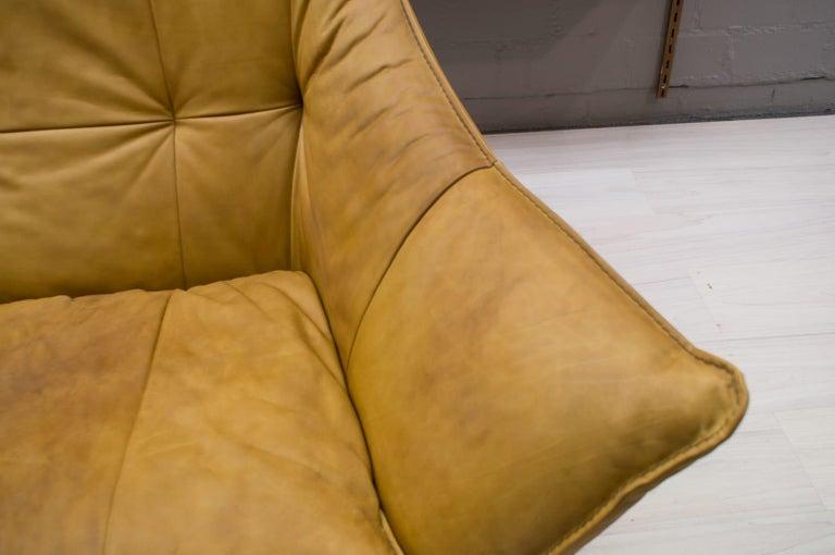 'Denver' 2-Seat Leather Sofa by Gerard Van Den Berg for Montis, 1970s For Sale 7