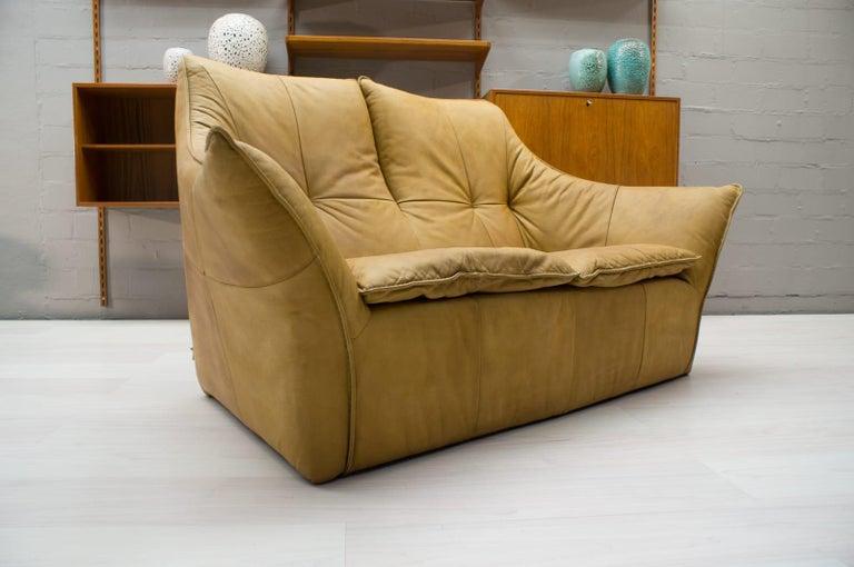 Mid-Century Modern 'Denver' 2-Seat Leather Sofa by Gerard Van Den Berg for Montis, 1970s For Sale