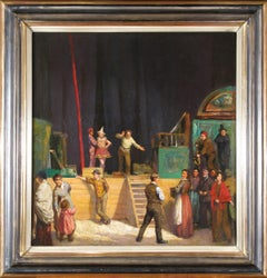 Circus, Circus performers ,  Side Show, Denys George Wells