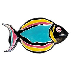 Dept 56 Decorative Fish Plate circa 1985