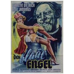 Der Blaue Engel, 1950r Poster