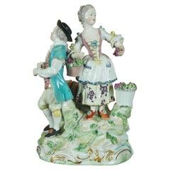 Derby Figure Group, The Vignerons, circa 1775