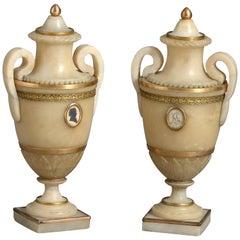 Derbyshire Alabaster Urns