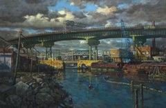 View of Ninth Street Bridge, Afternoon