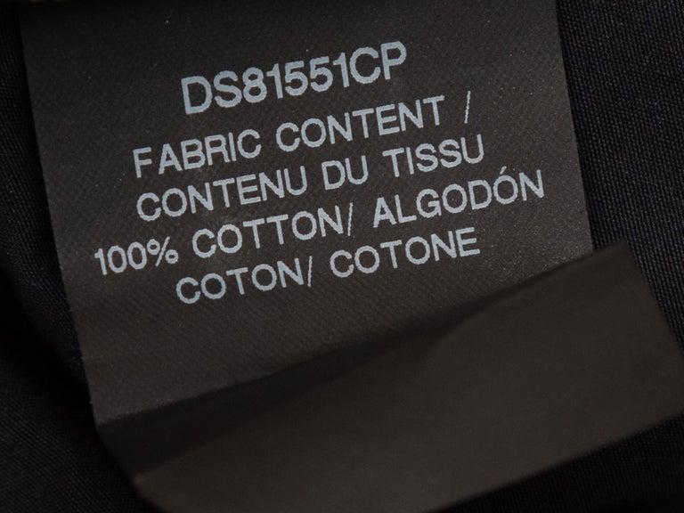Derek Lam Navy Long Sleeve Cotton Dress 1