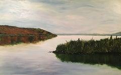 ' Pasqua Lake ', Painting, Acrylic on Canvas