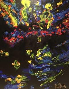 Crackleridge ', Painting, Acrylic on Canvas