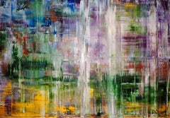 Falling Water, Painting, Acrylic on Canvas