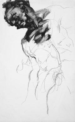 Sleeping man, Painting, Acrylic on Canvas