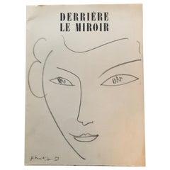 Derrière Le Miroir Henri Matisse Published by Maeght Editeur, Paris, 1981