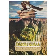 """Dersu Uzala"" 1976 Czech A1 Film Poster"