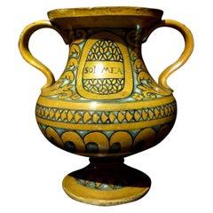 Deruta Biansato Vase, First Half of the 16th Century