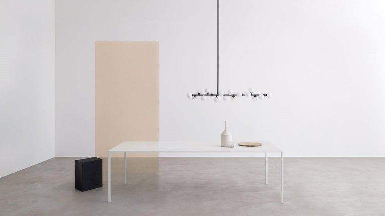 Steel Desalto 25 Table Designed by Metrica Bruno Fattorini & Robin Rizzini For Sale
