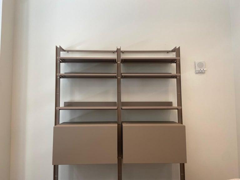 Desalto  Armida Bookcase Designed by Caronni & Bonanomi  For Sale 3