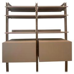 Desalto  Armida Bookcase Designed by Caronni & Bonanomi