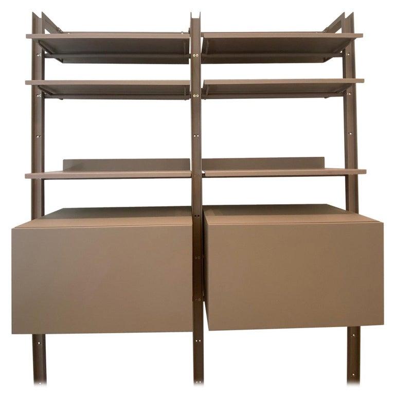 Desalto  Armida Bookcase Designed by Caronni & Bonanomi  For Sale