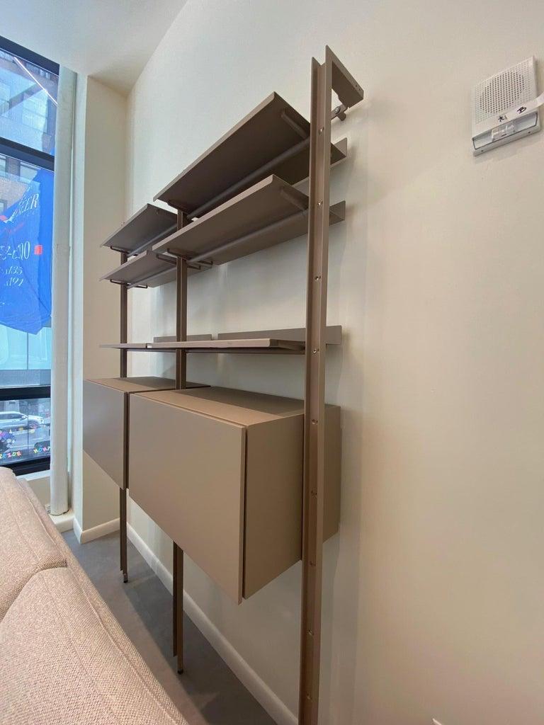 Italian Desalto  Armida Bookcase Designed by Caronni & Bonanomi  For Sale