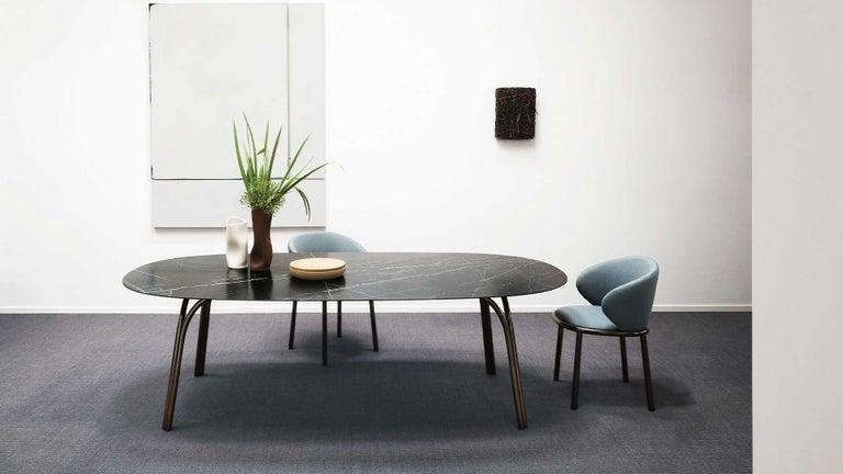 Desalto Lake Ceramic Top Table Designed by Gordon Guillaumier For Sale 4