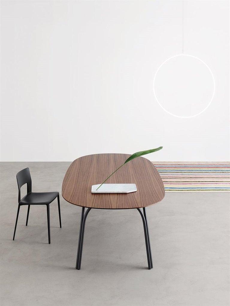 Contemporary Desalto Lake Ceramic Top Table Designed by Gordon Guillaumier For Sale