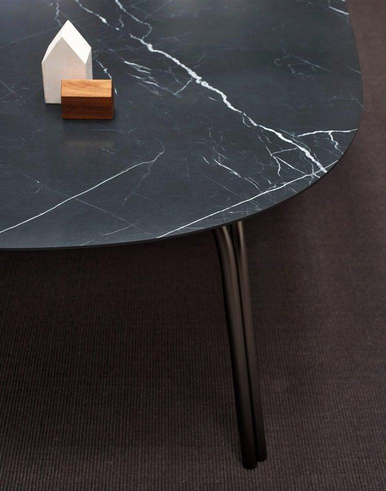 Desalto Lake Ceramic Top Table Designed by Gordon Guillaumier For Sale 1