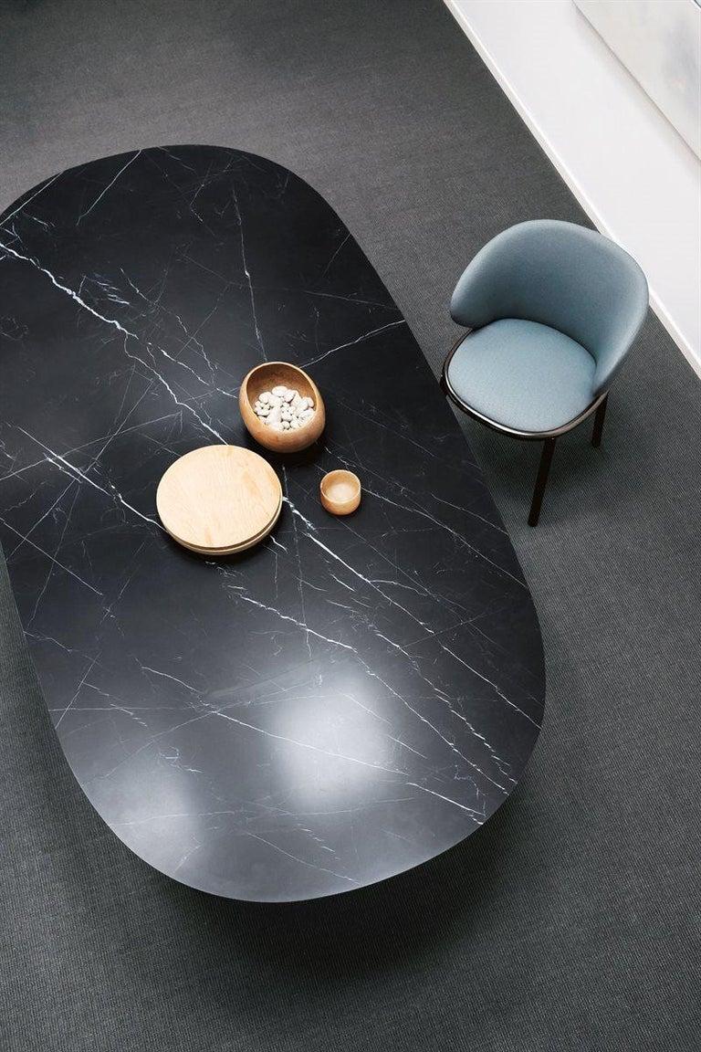 Desalto Lake Ceramic Top Table Designed by Gordon Guillaumier For Sale 2