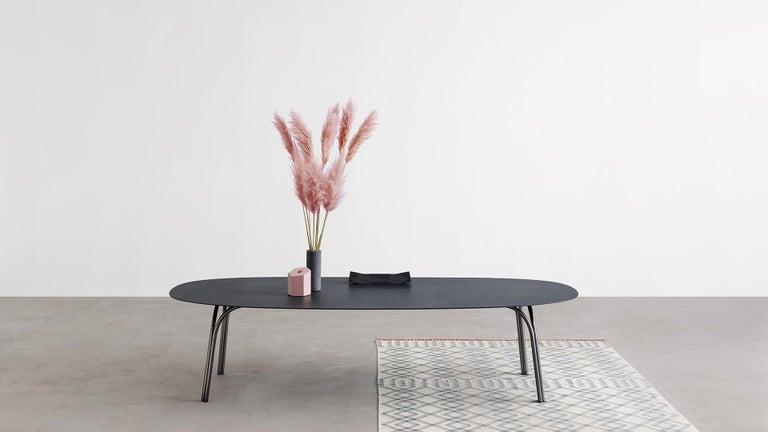 Desalto Lake Ceramic Top Table Designed by Gordon Guillaumier For Sale 3