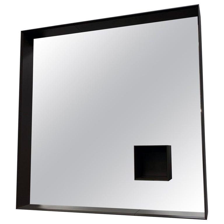Desalto Mir Brown Mirror For Sale