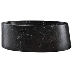 Desco Oval Bathtub Made of Marble Customizable