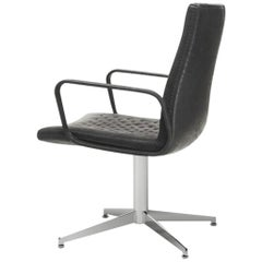 DeSede DS-1051  Executive Leather Swivel Armchair