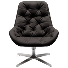 De Sede DS-144 Armchair in Black Upholstery by Werner Aisslinger