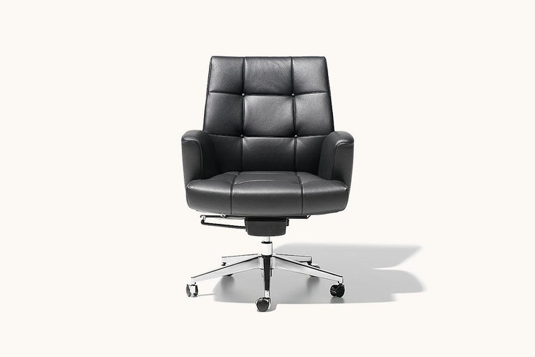 Modern De Sede DS-257/01 Executive Armchair in Black Upholstery by De Sede Design Team For Sale