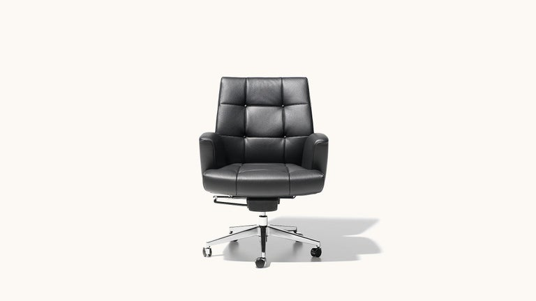 Swiss De Sede DS-257/01 Executive Armchair in Black Upholstery by De Sede Design Team For Sale