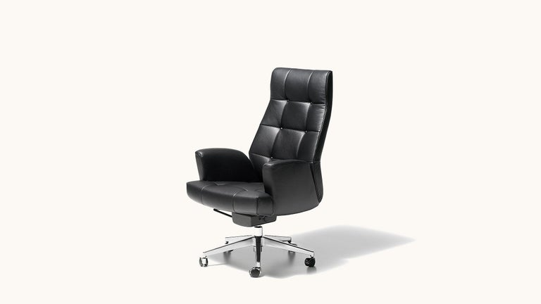 Sitting comfortably is the name of the game here! Designed as a Classic executive chair, the DS-257 is the perfect choice for concentrated and at the same time comfortable work, made for everyone with high demands during office work. Special care is