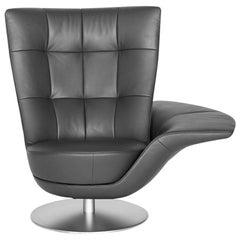 De Sede DS-262/11 Armchair in Black Upholstery & Swivel Base by Stefan Heiliger