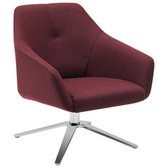 De Sede DS-278 Lounge Chair in Barolo Upholstery by Christian Werner