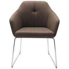 De Sede DS-279 Dinning Chair in Craft Brown Upholstery by Christian Werner