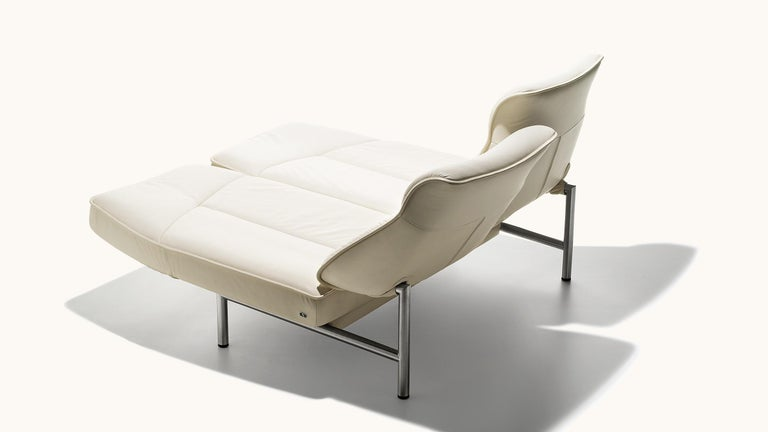 Swiss De Sede DS-450/02 Sofa in Off-White Upholstery by Thomas Althaus For Sale
