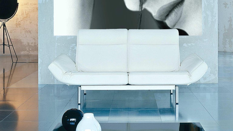 De Sede DS-450/02 Sofa in Off-White Upholstery by Thomas Althaus For Sale 2